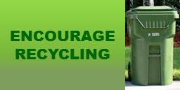 Encourage Recycling