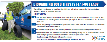 tires disposal