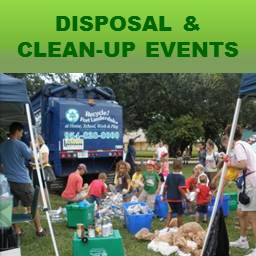 Recycling and Clean Up Events Tile