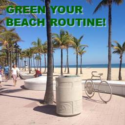 Green Your Beach Routine