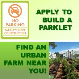 Parklets and Urban Farms