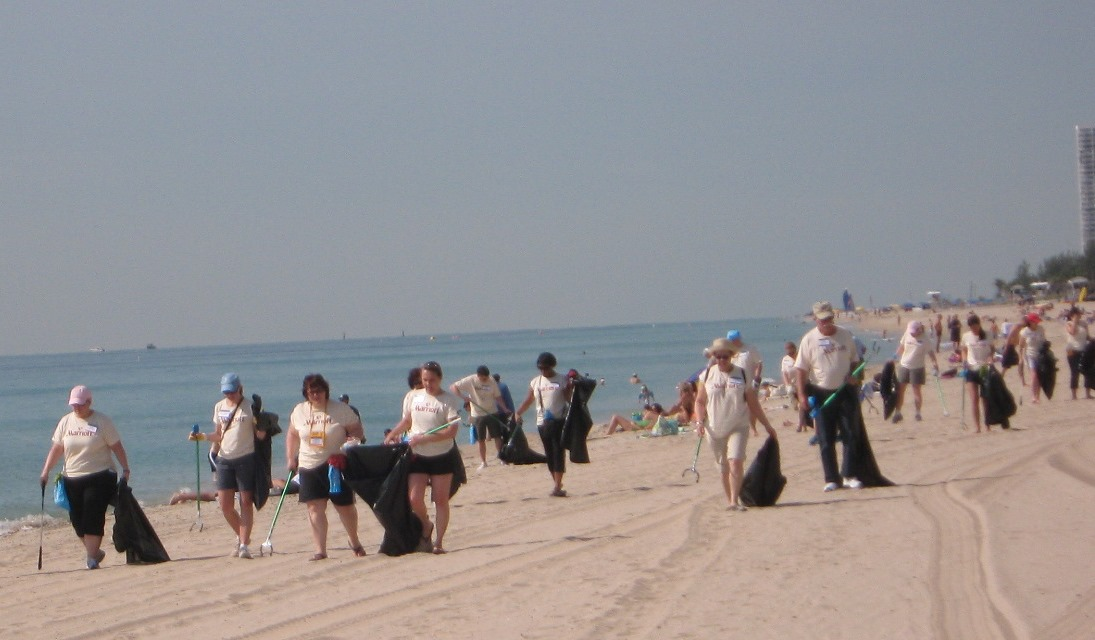 Beach Clean Up Event