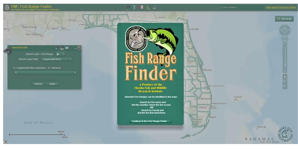 FWC Fish Range Finder