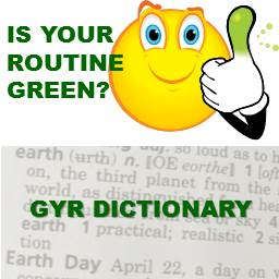 Green Routine Quiz and Dictionary
