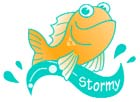 Stormy the Fish says Don't Pollute Our Waterways