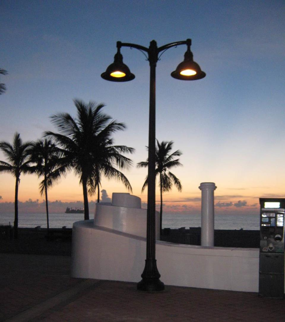 Turtle nesting sensitive lights on S.R. A1A