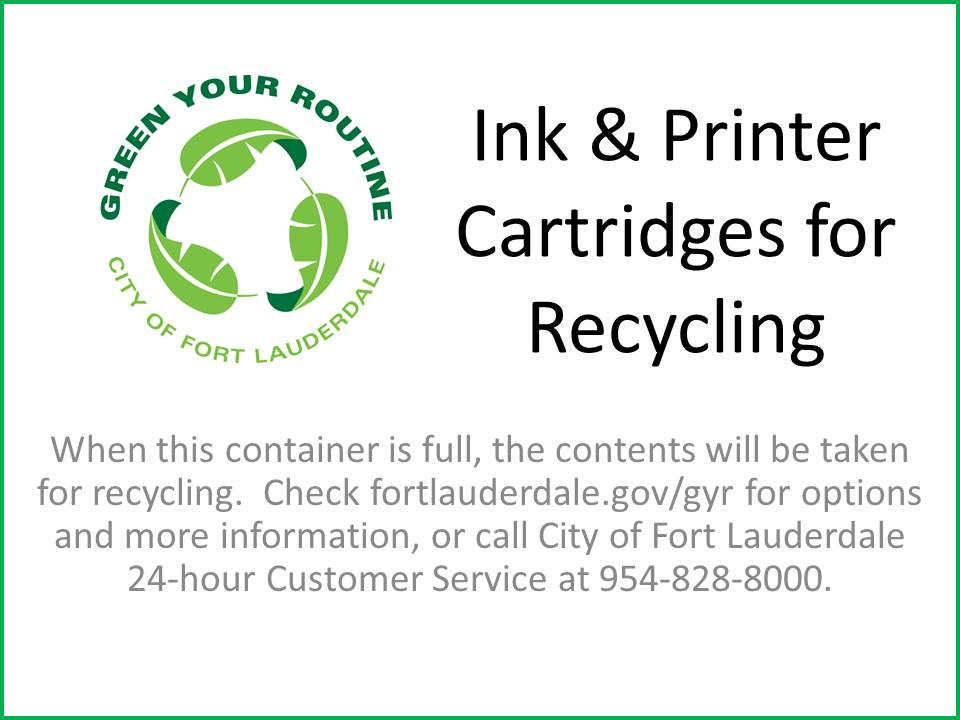Ink & Printer Cartridges for Recycling