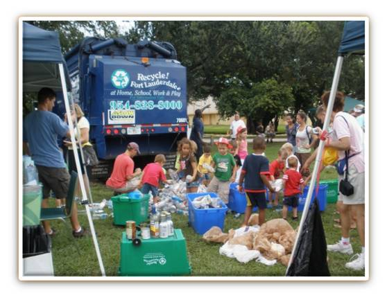 Kids Learn About Waste Collection at Big Toy & Truck Show