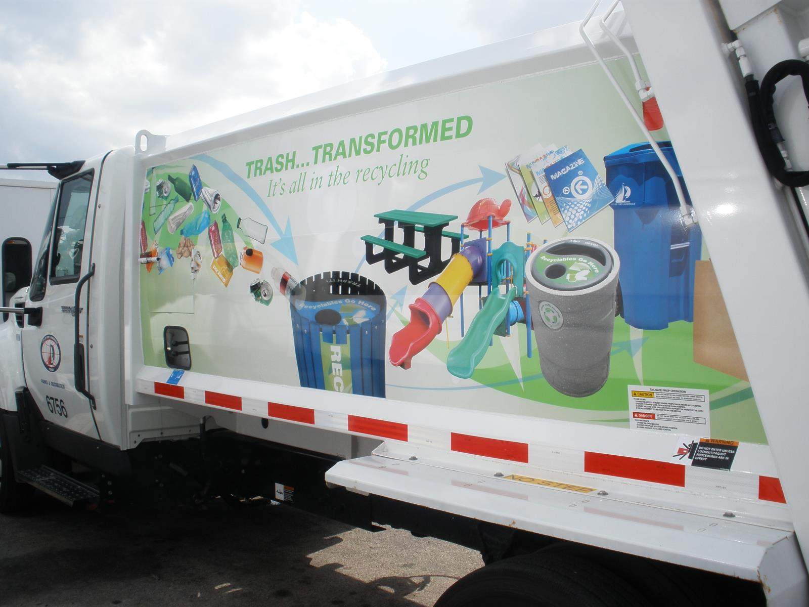 Our Recycling Collection Truck...Education on Wheels!